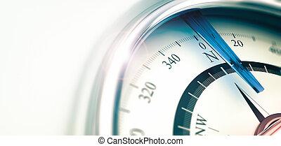 Compass Background, Orientation Direction