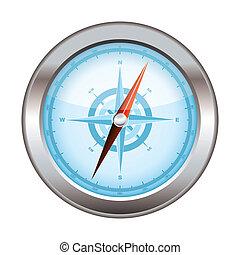 Compass icon modern