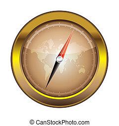 Compass icon retro