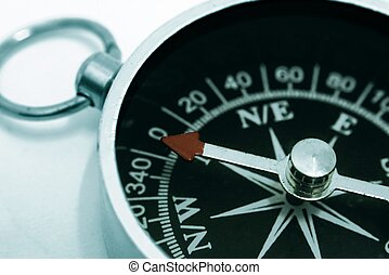 Compass in Close Up