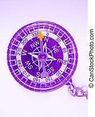 Compass, Key chain