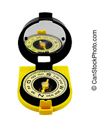 Compass of the tourist. - A compass, the device for ...