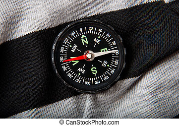 compass on a dark background