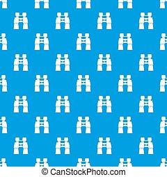 Compass pattern seamless blue