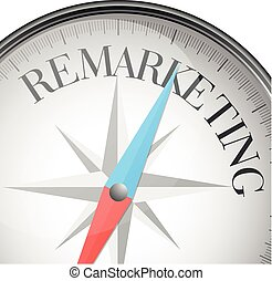 compass Remarketing - detailed illustration of a compass ...