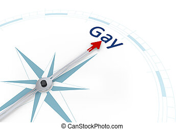 Compass Sexual Orientation - An image of a nice blue compass...