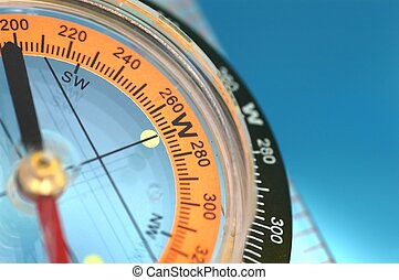 Compass - close up