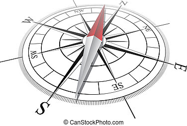 Compass. Vector illustration