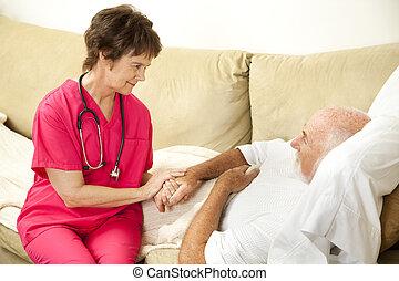 Compassionate Home Care - Compassionate home health nurse...