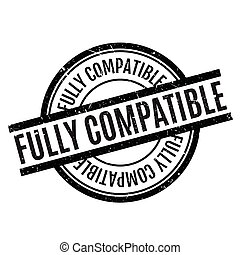compatible, pleinement, tampon