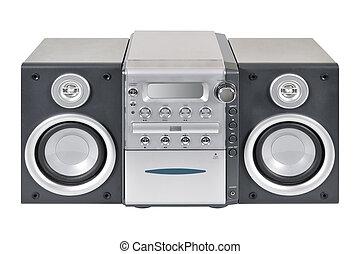 compatto, sistema stereo