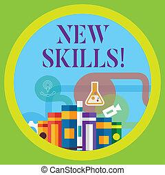 competences., skills., récemment, connaissance, business, ...