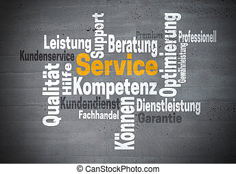 competency), λέξη , υπηρεσία , γερμανίδα , υποστηρίζω , kompetenz, γενική ιδέα , (in, σύνεφο