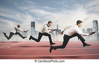 competição, negócio