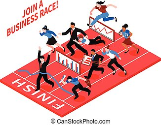 competitie, zakelijk, samenstelling