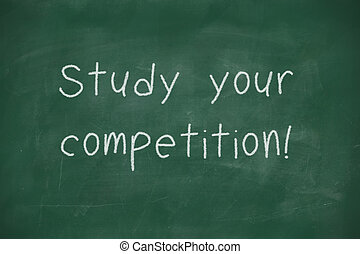 competitionhandwritten, studeren, jouw, bord