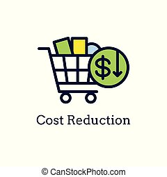 Competitive Pricing Icon Showing an aspect of Pricing, ...