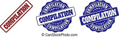 compilação, grunge, selo, selos