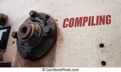 Compiling process conceptual metaphor - Machine wheels...