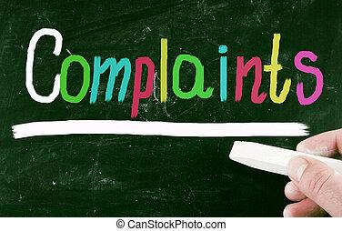 complaint concept