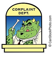 Complaint department - Complaints eaten here.  Customer ...