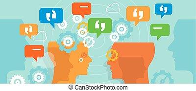 complaints customer speak conversation bubble talk...