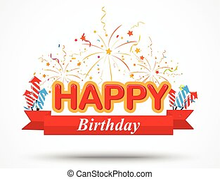 compleanno, elementi, celebrazione