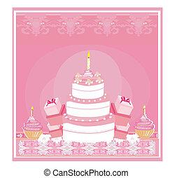 compleanno, felice, scheda