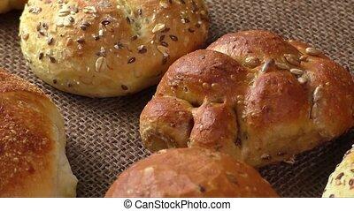 complet, différent, pains, sorts