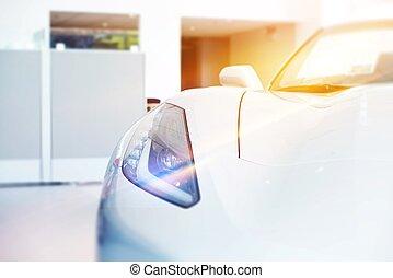 completamente nuevo, coche, en venta