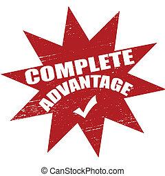 Complete advantage