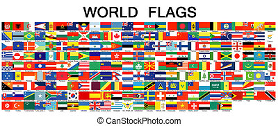 Complete set of Flags