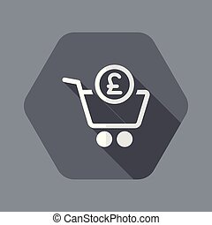 Complete shopping paying in Sterling - Flat and isolated...