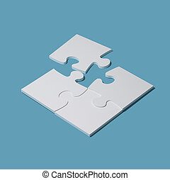 Completing a puzzle with the last piece