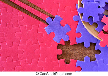 Completing the missing jigsaw puzzle