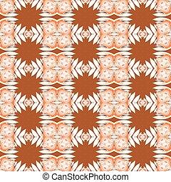 Complex floral pattern