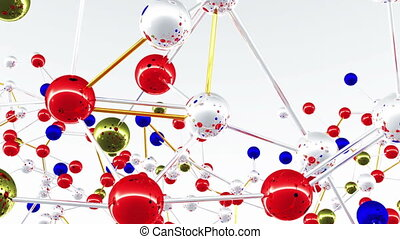 Complex Molecule Structure 01