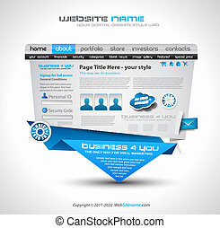 Complex Origami Website - Elegant Design for Business...