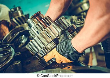 Heavy Duty Mechanic - Complex Repair. Epicyclic Gearing. ...