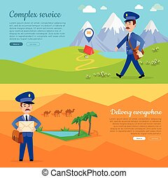 Complex Service Delivery Anywhere Web Banner. - Complex...