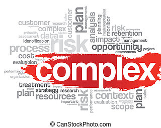 Complex Word Cloud - Word Cloud with Complex related tags,...