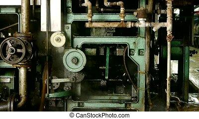 complexe, précision, machines