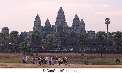 complexe, temple, angkor