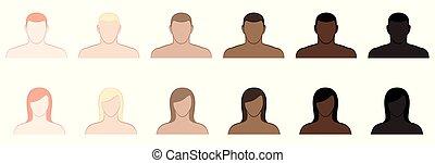 Complexion Skin Tone Women Men