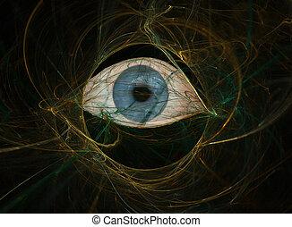 complexité, oeil