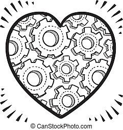 Complexities of love sketch