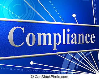Compliance Agreement Shows Complied Guidelines And Process...