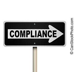 Compliance One Way Sign Pointing Following Guidelines - The...