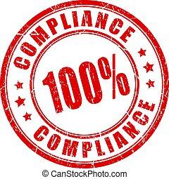 Compliance vector round stamp