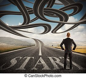 Complicated success road